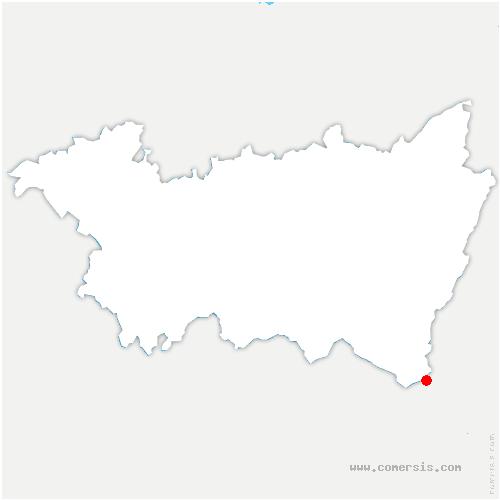 carte de localisation de Saint-Maurice-sur-Moselle