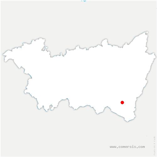 carte de localisation de Thiéfosse