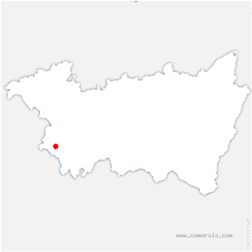 carte de localisation de Tollaincourt