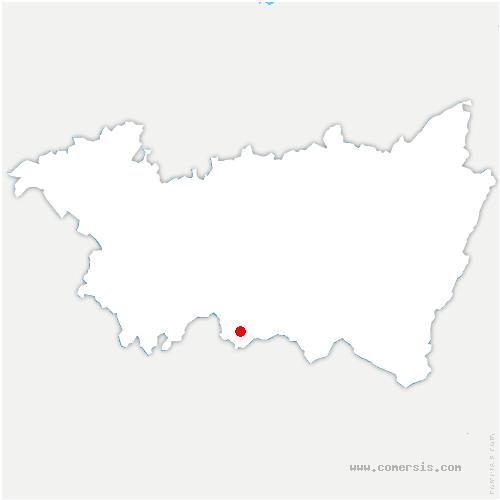 carte de localisation de Trémonzey