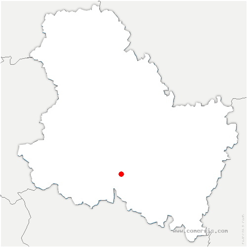 carte de localisation de Charentenay