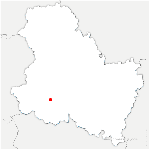 carte de localisation de Fontenoy