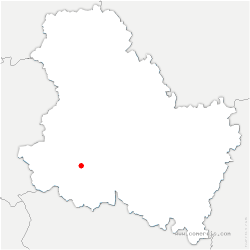 carte de localisation de Lalande