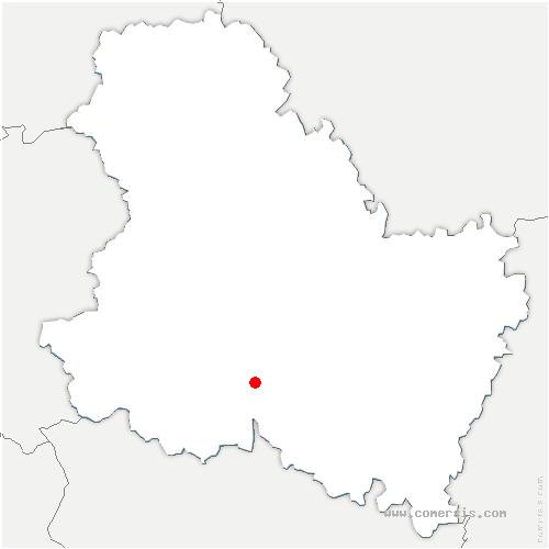 carte de localisation de Mouffy