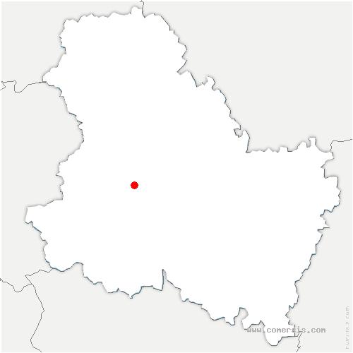 carte de localisation de Saint-Maurice-Thizouaille