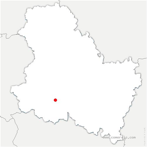 carte de localisation de Sementron