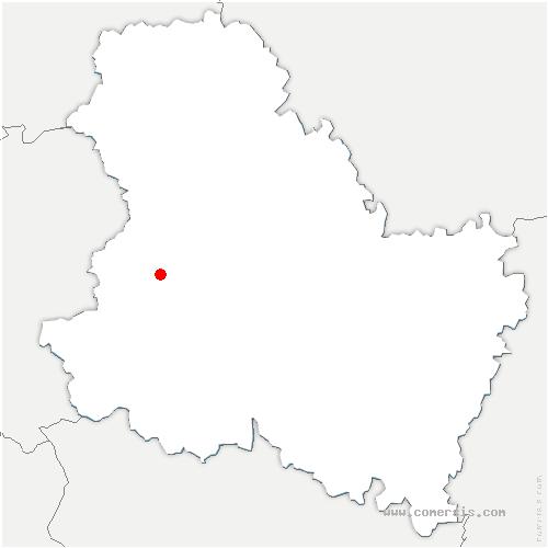 carte de localisation de Sommecaise