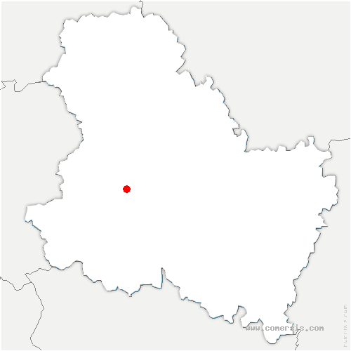 carte de localisation de Val-d'Ocre