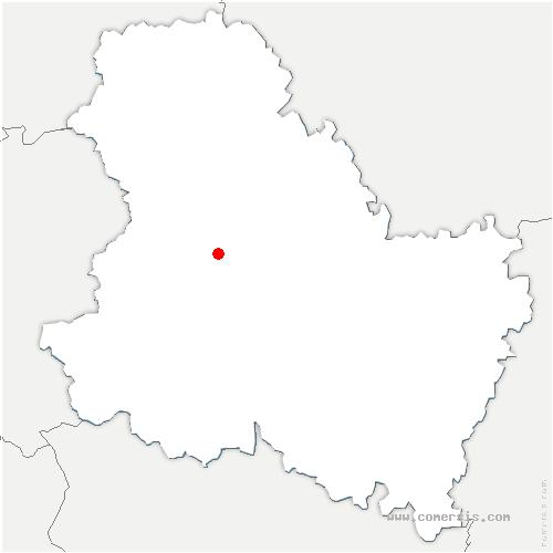 carte de localisation de Valravillon