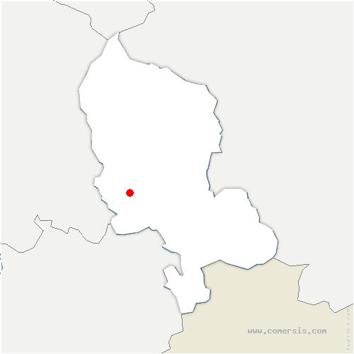 carte de localisation de Andelnans