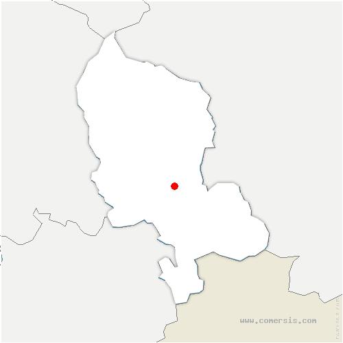 carte de localisation de Autrechêne