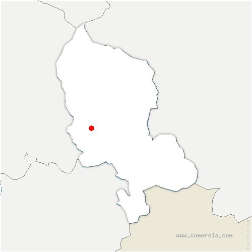 carte de localisation de Belfort