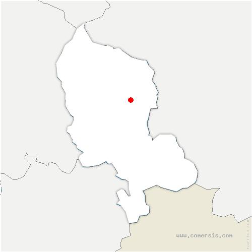 carte de localisation de Bethonvilliers