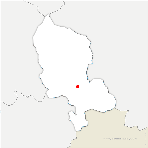 carte de localisation de Brebotte