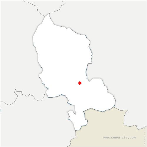 carte de localisation de Bretagne