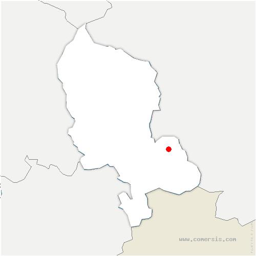 carte de localisation de Chavanatte