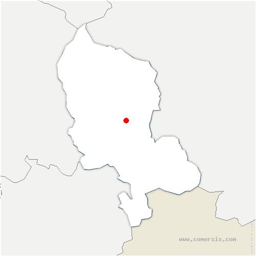 carte de localisation de Chèvremont