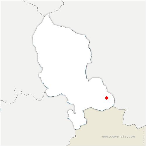 carte de localisation de Courtelevant