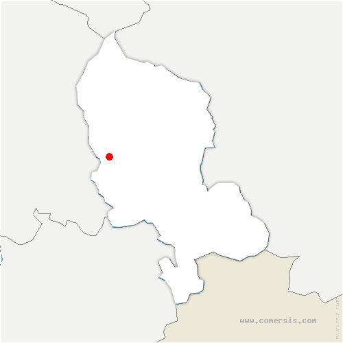 carte de localisation de Cravanche