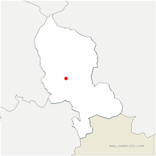 carte de localisation de Danjoutin