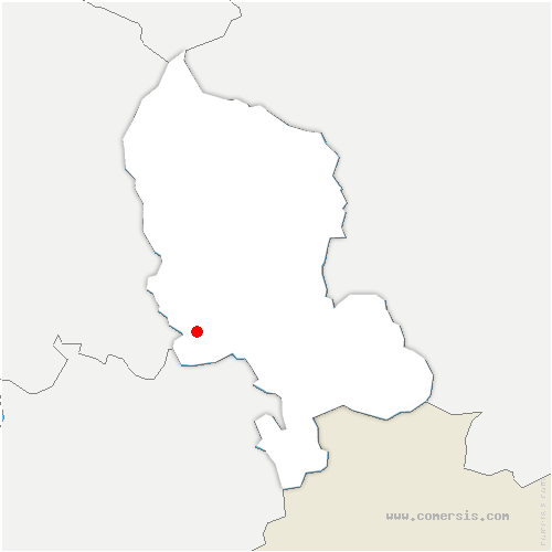 carte de localisation de Dorans