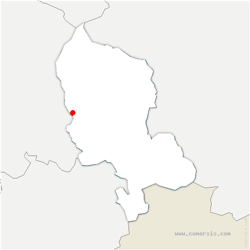 carte de localisation de Essert