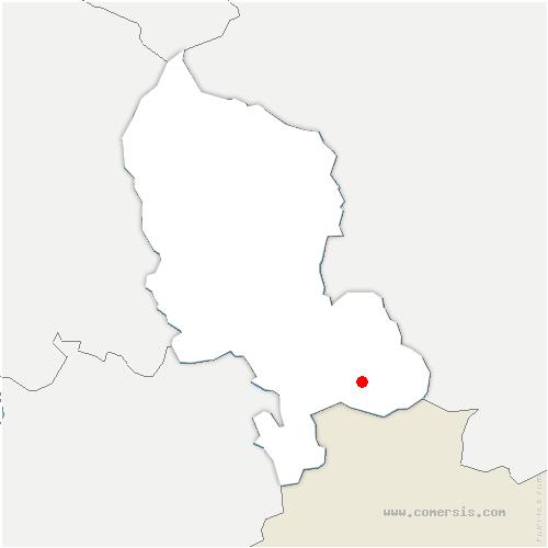 carte de localisation de Faverois