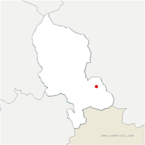 carte de localisation de Florimont