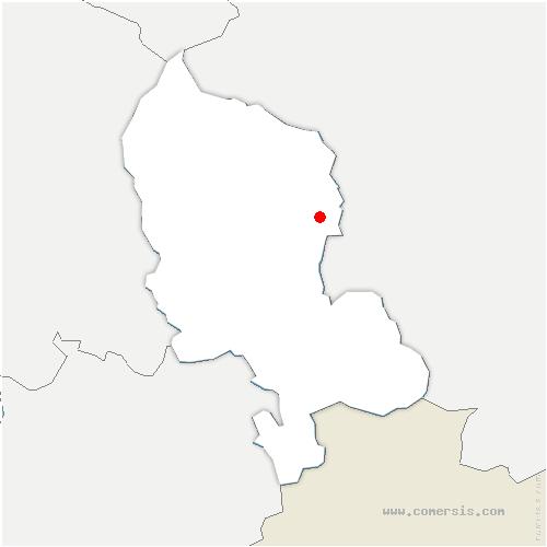 carte de localisation de Fontaine