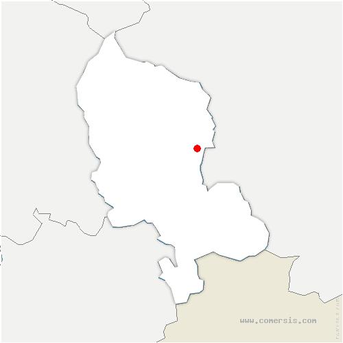 carte de localisation de Foussemagne