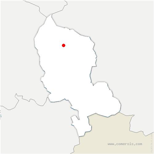 carte de localisation de Grosmagny