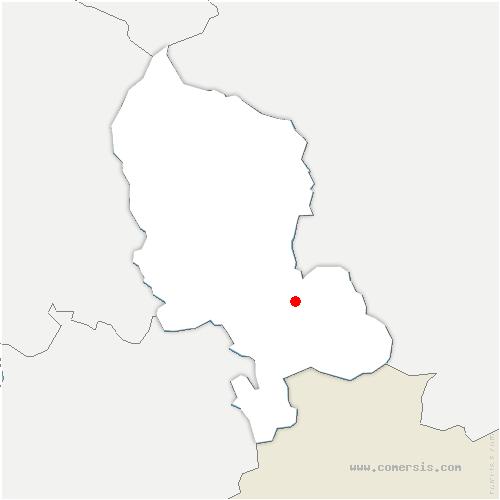 carte de localisation de Grosne