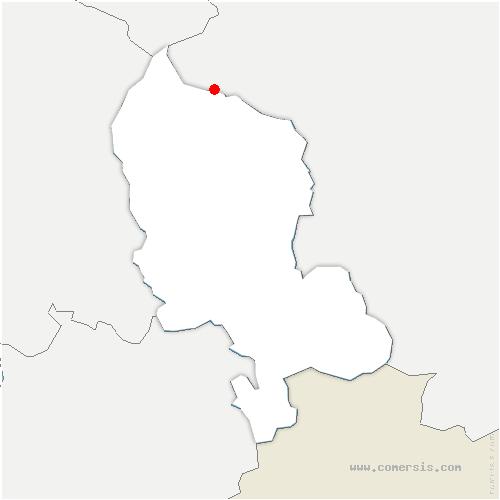 carte de localisation de Lamadeleine-Val-des-Anges