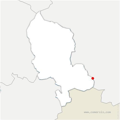 carte de localisation de Lepuix-Neuf