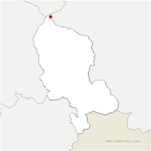 carte de localisation de Lepuix