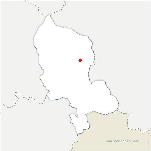 carte de localisation de Menoncourt