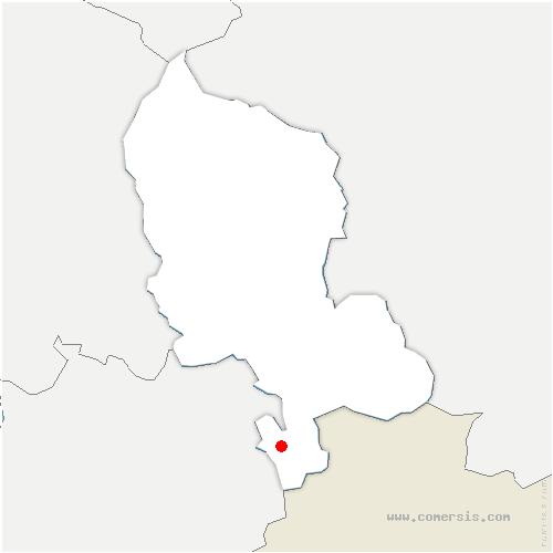 carte de localisation de Montbouton