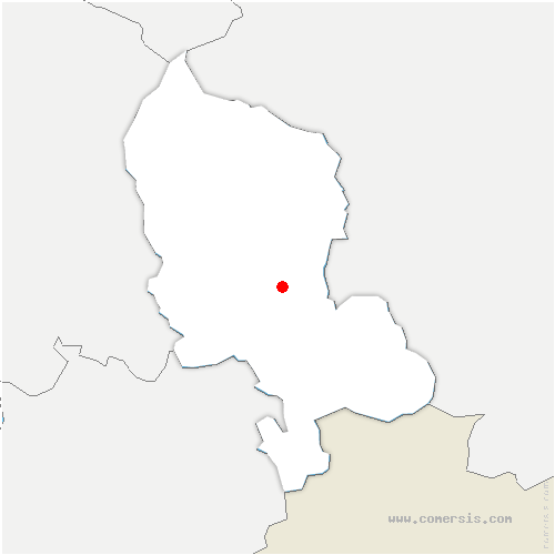 carte de localisation de Novillard