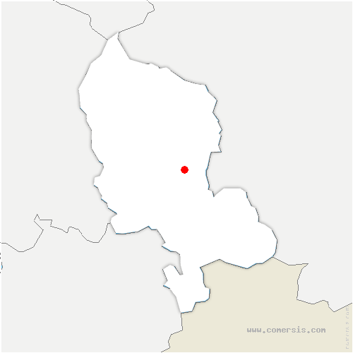 carte de localisation de Petit-Croix