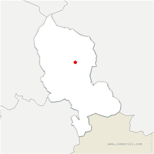 carte de localisation de Phaffans