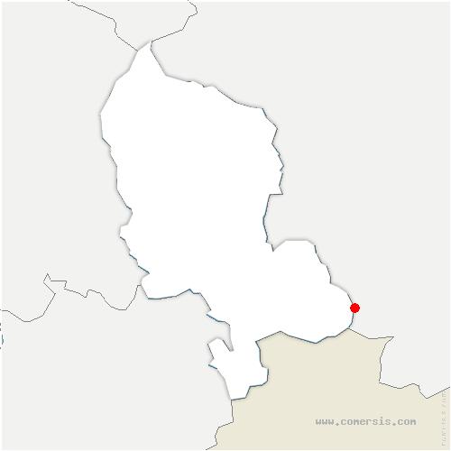 carte de localisation de Réchésy