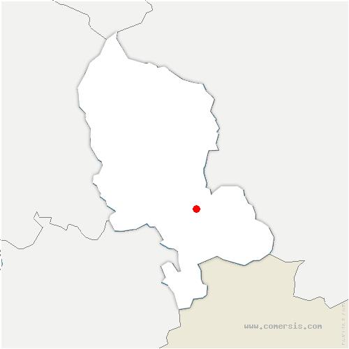 carte de localisation de Recouvrance