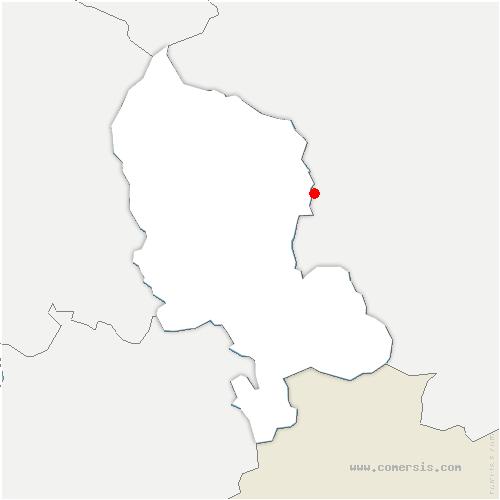 carte de localisation de Reppe