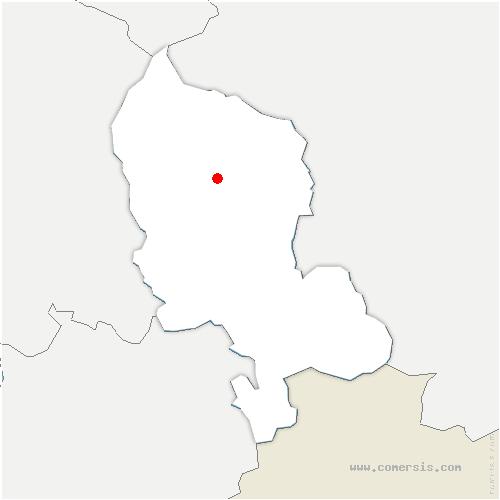 carte de localisation de Roppe