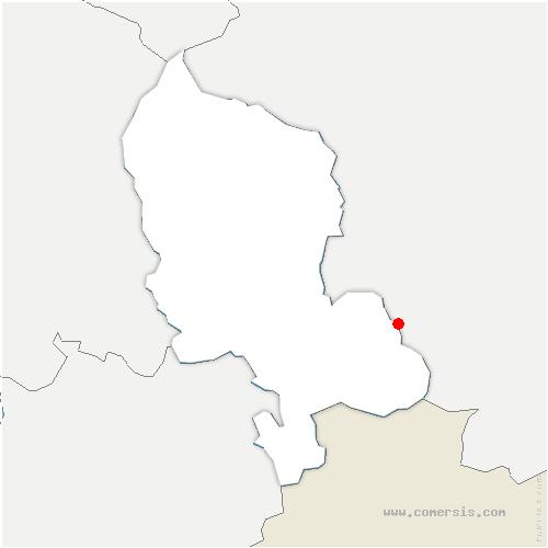 carte de localisation de Suarce