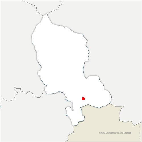 carte de localisation de Thiancourt