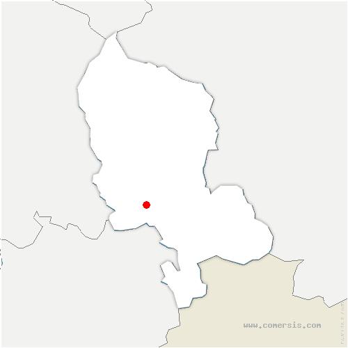 carte de localisation de Trévenans