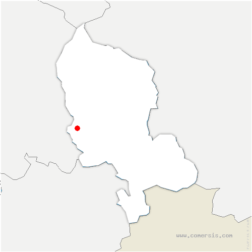 carte de localisation de Urcerey