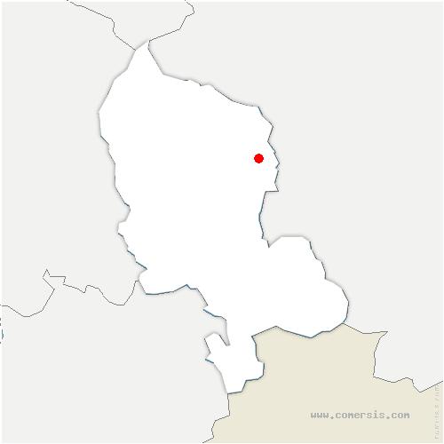 carte de localisation de Vauthiermont