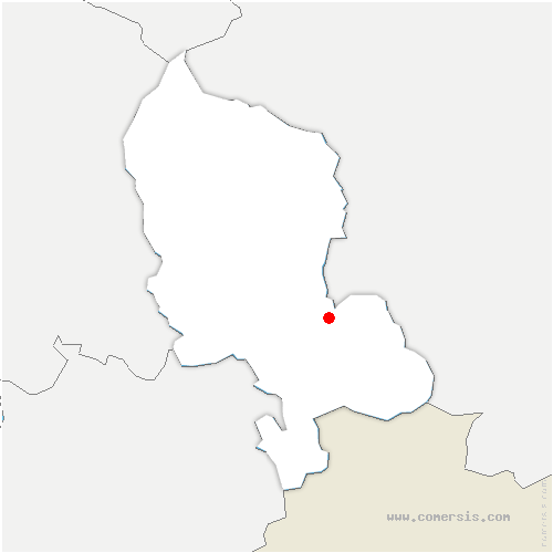 carte de localisation de Vellescot